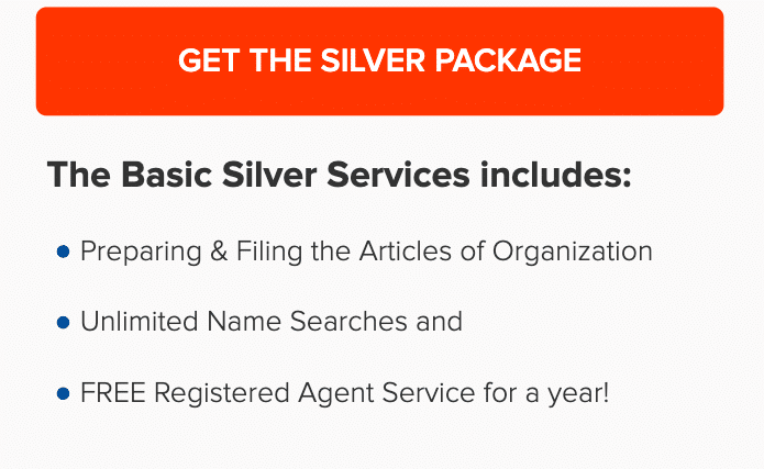 Incfile Silver Plan includes Registered Agent Service